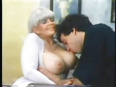 Vintage Mature Huge Boogs #rec Is Fucked By Young Bull