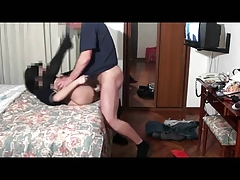 Milf in hotel sex in camera