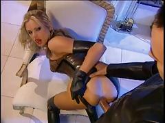 Briana Has Hot Latex Fetish Sex