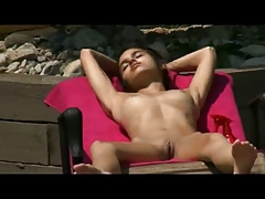 Skinny Teen Has A Wank Al Fresco !