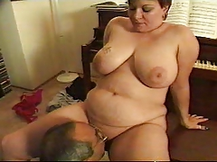 Granny BBW Anal