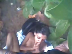 Indian Girl Giving It Up Out Back