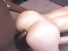 Maggie Star Sucks and Fucks Black Cock