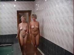 Russian Matures Served On Sauna 2