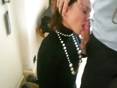 25 years old swallowing in room hotel while husband out of city