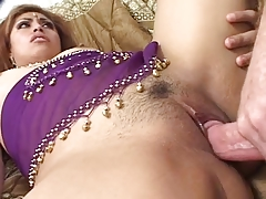 Sexy indian slut likes a creampie