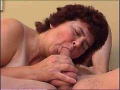 Fat Granny Getting Her Hairy Cunt Drilled