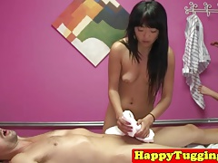 Oriental Masseuses Pleasure Clients Cock