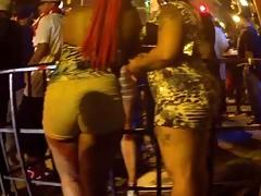 Bubble Ass Skirt Booty Redbone Candid