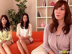 Azhotporn Com Hot Japanese Ladies Having An Orgy