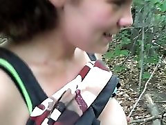 Humiliating Girl In The Woods Part 1