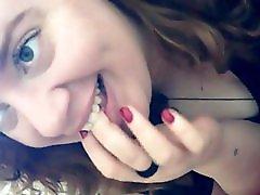 Cute Teen Swallows Every Drop