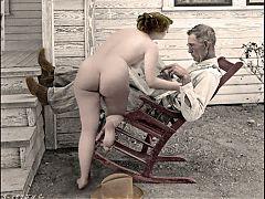 Antique Nudes Depression Era Settings