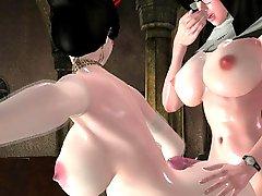 Futanari Nun Fucking A Bride Huge Boobs