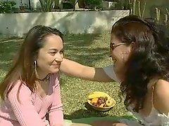Nana E Vanessa Home Alone Hot Portuguese Lesbian Scene