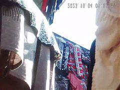 Upskirt Granny 70 Yo! Amateur Hidden Cam!