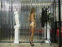 Little Brunette Strips Naked