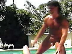 Vintage Sex By The Pool