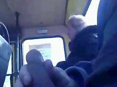 Crazy Dude Jerk In Train