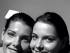 Hot Twins Kissing