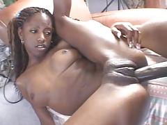 Skinny Black Woman Getting Dicked