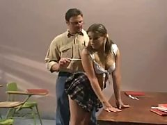 Cheating Schoolgirl Fucked By Her Teacher