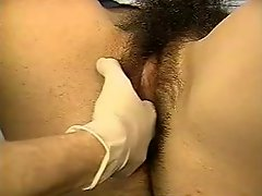 A Real Exam On A Very Hairy Hirsute Young Woman