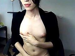Dark Hair Great Nipples And A Nice Cock
