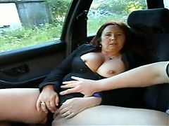 Mature In Car