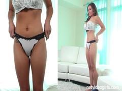 Netvideogirls Calendar Audition Turns To Porn