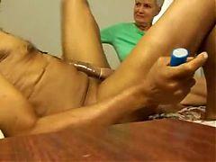 Home Video Blonde Mature Fucks A Rasta Man