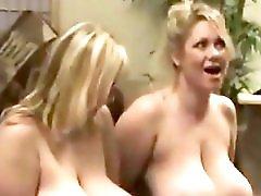 Giant Breasts Bbw Sucks Her Big Tits