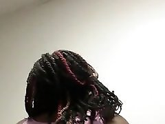 Chocolate Sexy Bbw Jiggling And Shaking Thickness
