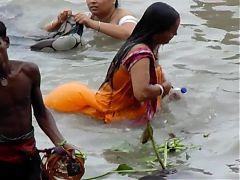 Ganga Chubby Stepaunties Bathing