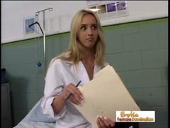 Dominant Nurse Kelly Wells Has Fun At Work