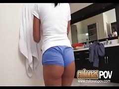 Hot Colombiana Maid Selena Santana