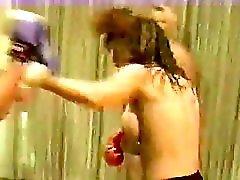 Cal Supreme Christine Vs Lee Topless Boxing