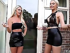 Smoking Hot Mikayla Bayliss And Mikaela Witt In Latex