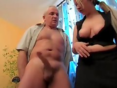 German Bitch Wank Timer