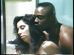 Sexy Brunette Slut Gets Pounded From The Back By A Black Guy