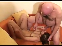 Old Man And Teen N20 Russian Brunette Teen Babe Mature Man