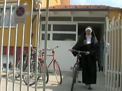 German Nun With Dirty Habit
