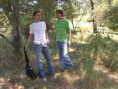 Wichsen Im Park