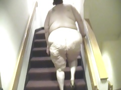 My Fat Nasty April Walkin Naked In Hotel Hallway