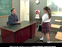 Bigtit Pornstar Schoolgirl Rachel Roxx Fucks Bigdick Teacher