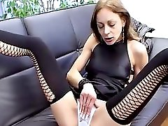 Incredible Squirt Slut Sex Addict!! French Amateur