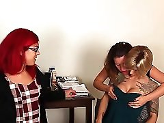 Ts Nina And Kendra Get Sucked By Girl