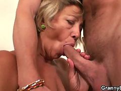 Nice Blowjob From Mature Cleaning Lady
