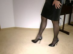 Leather Skirt Secretaries
