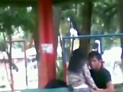 Public Park Foreplay
